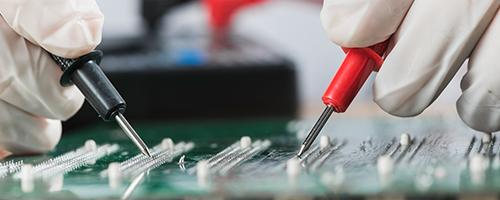 repairing electronic circuit board