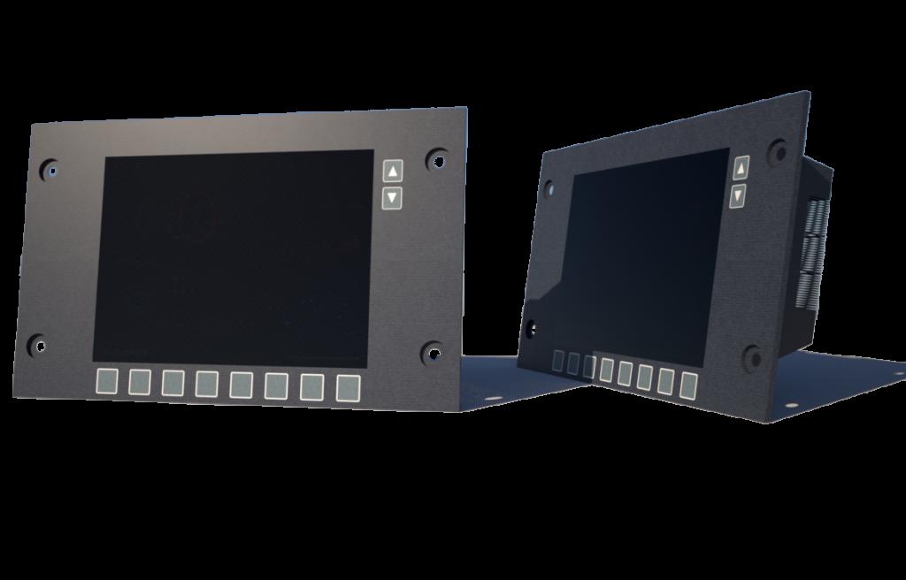 locomotive display and screens repair